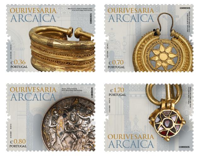 Ouro arcaico selos