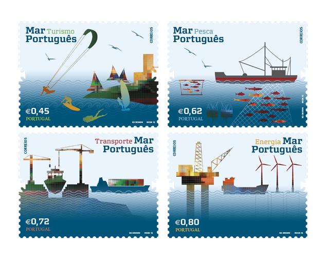 O mar selos