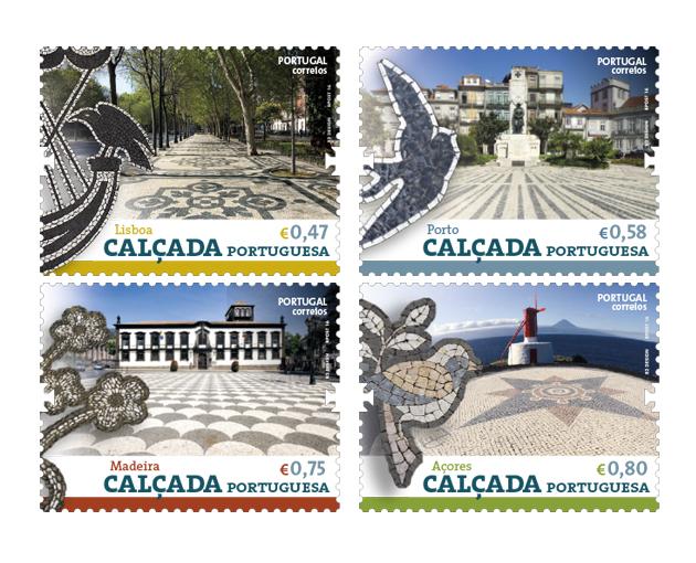 Cal ada portuguesa selos 1