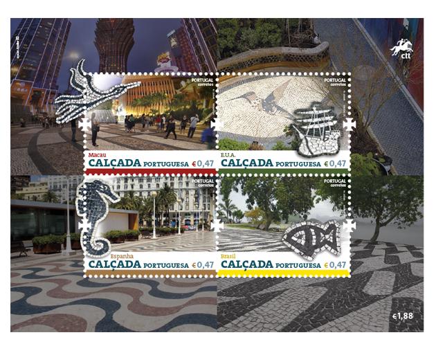Cal ada portuguesa selos 2